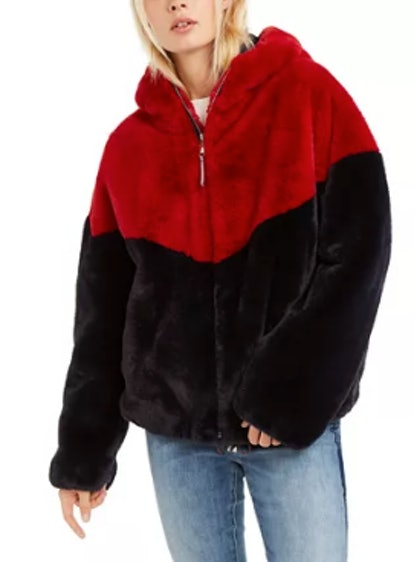 Tommy Hilfiger Faux-Fur Teddy