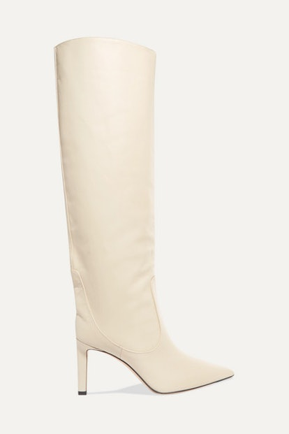 Mavis 85 Leather Knee Boots