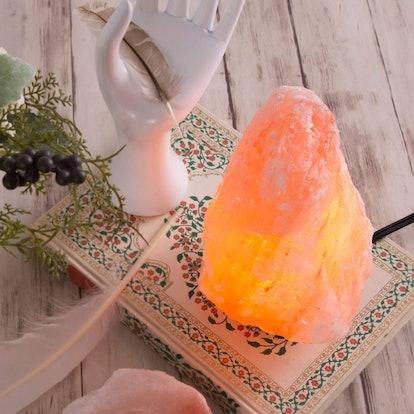 Crystal Allies Natural Himalayan Salt Lamp