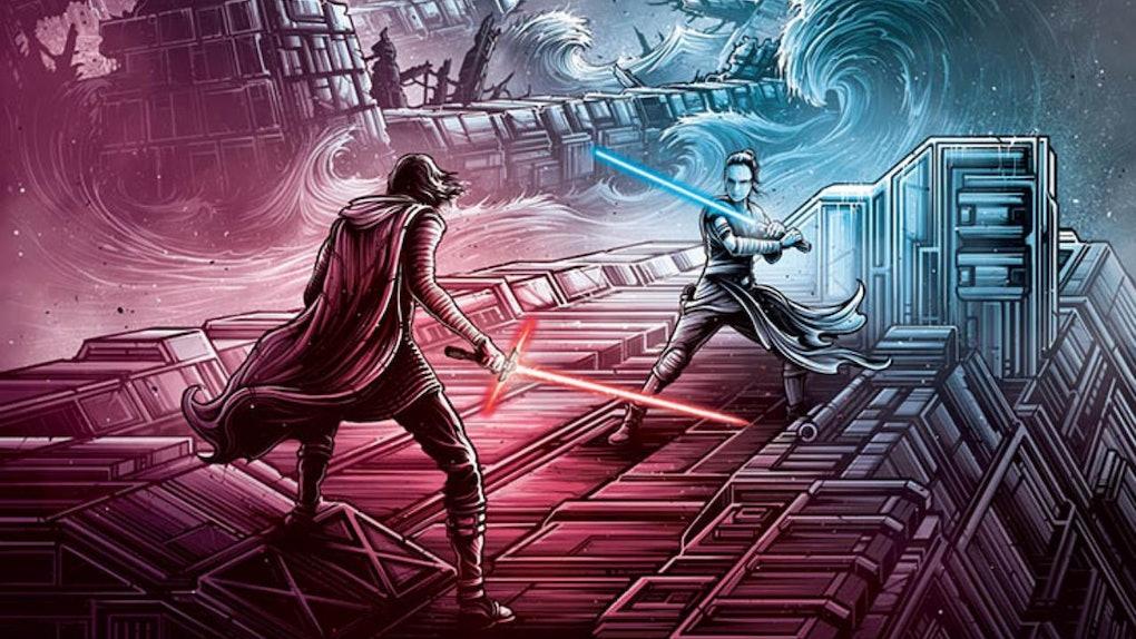 Rise of Skywalker IMAX poster