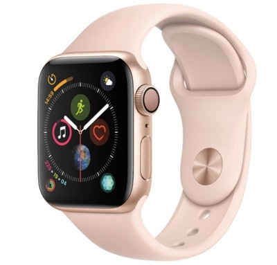 Apple Watch Series 4 (GPS) 40mm Gold Aluminum Case with Pink Sand Sport Band - Gold Aluminum