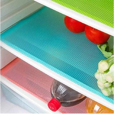 Aiosscd Shelf Mats Antifouling Refrigerator Liners (7 Pack)