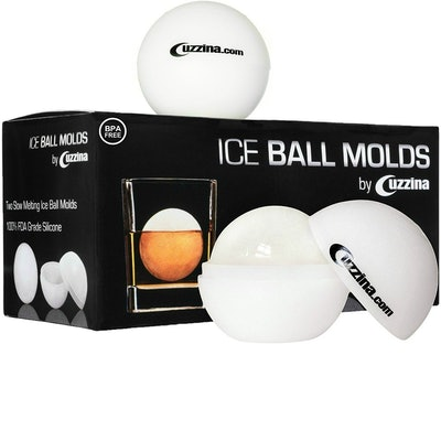 Cuzzina Ice Ball Maker (2 Pack)