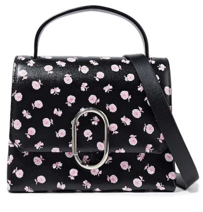 Alix mini floral-print leather shoulder bag
