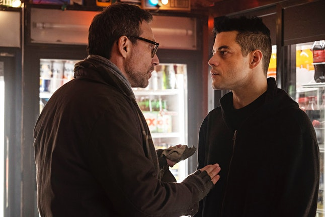 Mr. Robot is Elliot's protector but his third personality is a mystery