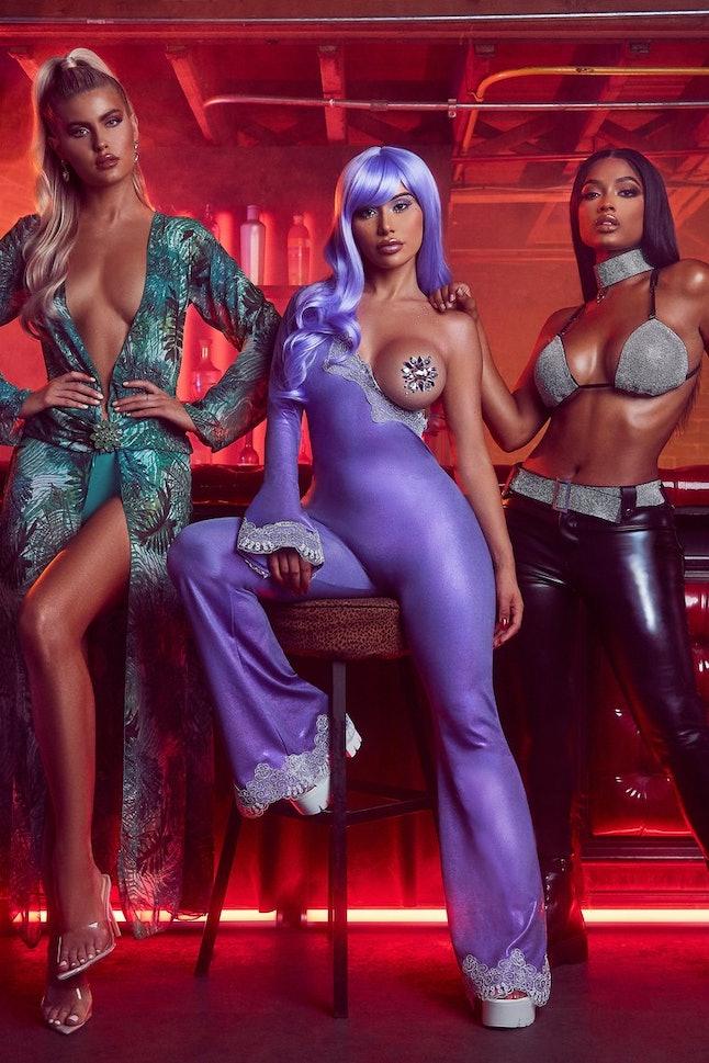 Fashion Nova's Jennifer Lopez Grammy dress recreation has come under fire by Versace.