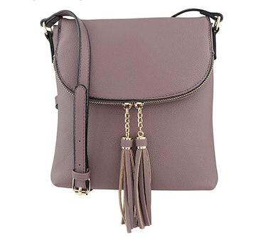 B BRENTANO Vegan Crossbody Handbag