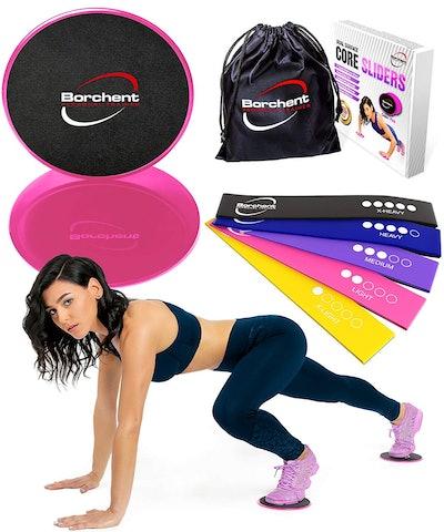 Borchent Home Abdominal Fitness Set,
