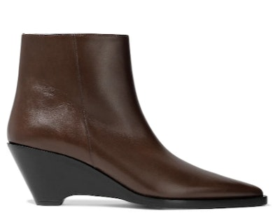 Cony leather ankle boots