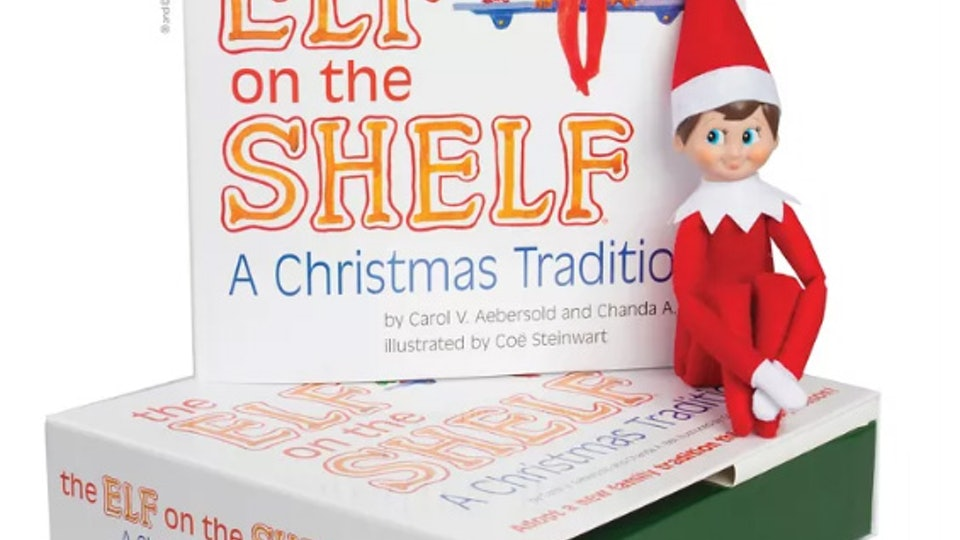 Elf on the Shelf a Christmas Tradition at Target