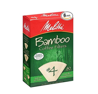 Melitta Bamboo Coffee Filters (6 Pack)