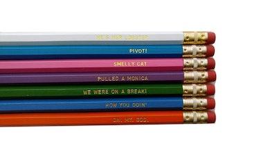 Friends TV Show Engraved Pencil Set