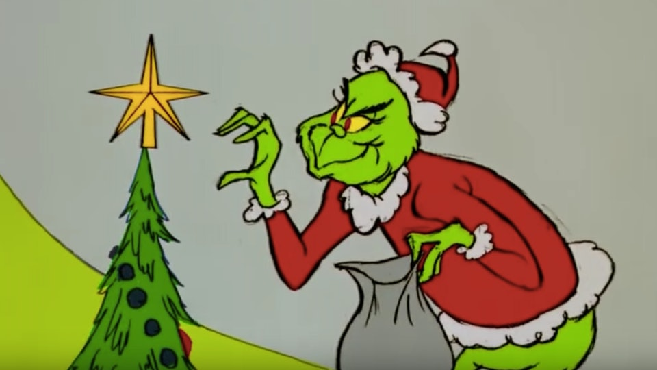 You can listen to 'How the Grinch Stole Christmas' with just one phone call.