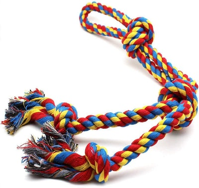 DIY House Large Dog Rope Toy