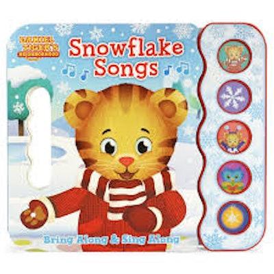 Daniel Tiger Snowflake Songs 5-Button Book