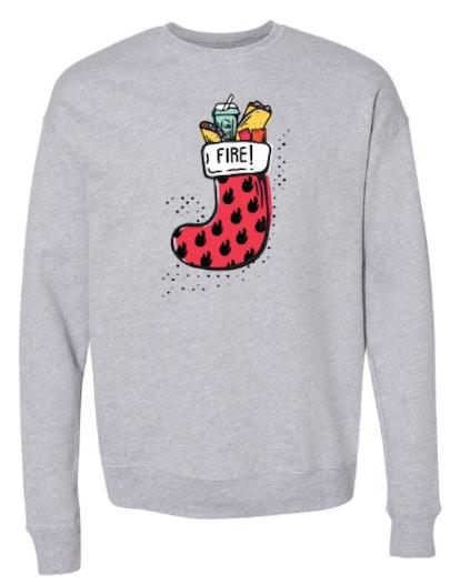 Taco Bell Stocking Stuffer Sweatshirt