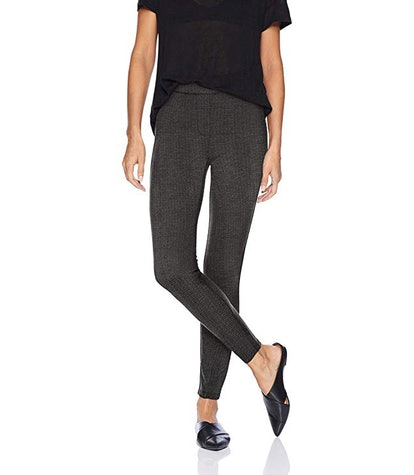 Daily Ritual Seamed Front 2-Pocket Ponte Knit Legging
