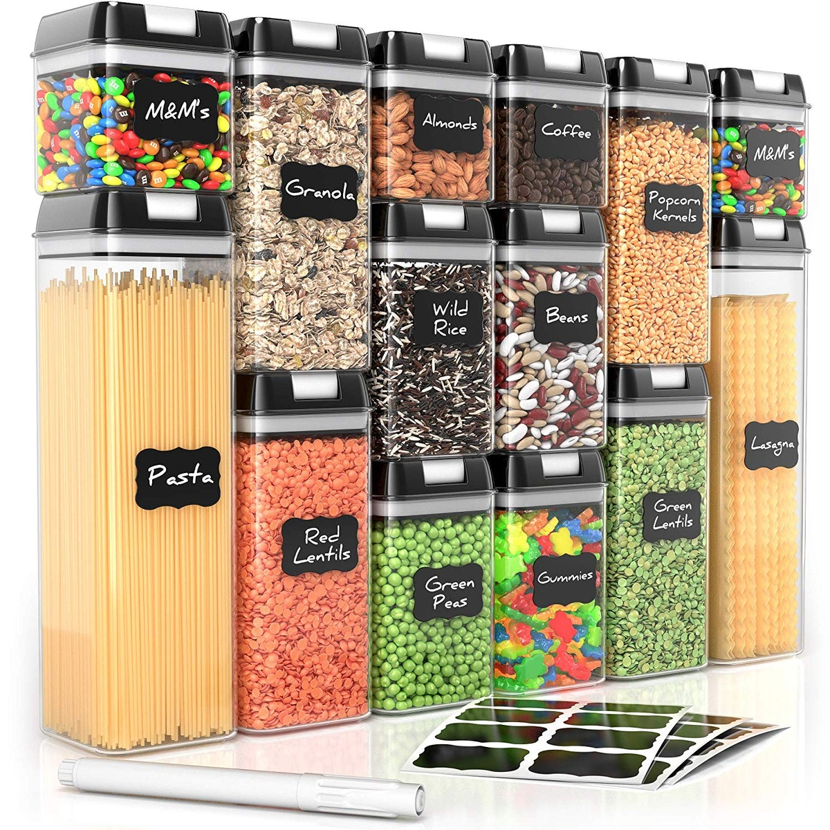 Simply Gourmet Food Storage Containers (14-Piece Set)
