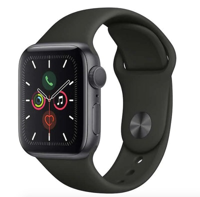 Apple Watch Series 5 GPS with Black Sport Band - 40mm - Space Gray