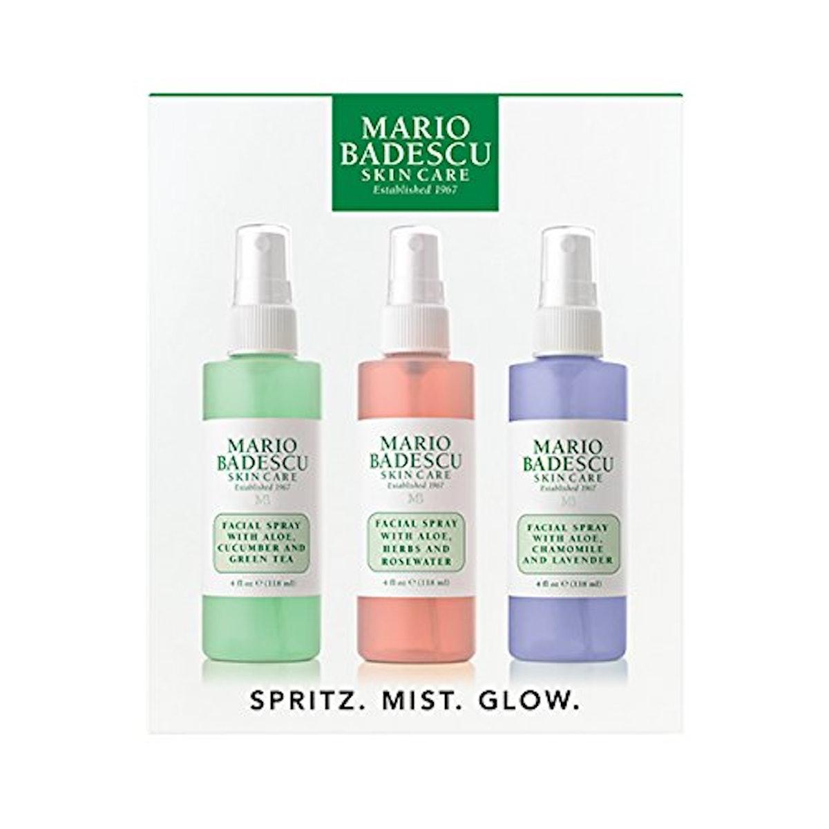 Mario Badescu Mist Facial Spray (3-Piece Set)