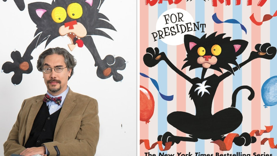 "Children's author Nick Bruel talks ""bad words"" in response to concerned reader"