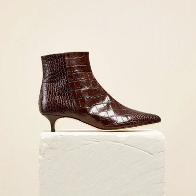 Kit Boot, Brown Croc
