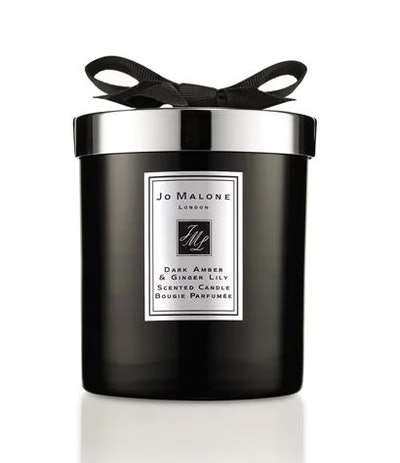 Dark Amber & Ginger Lily Home Candle