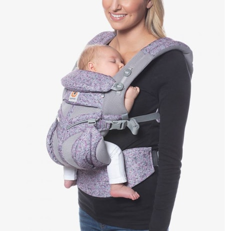 Omni 360 Baby Carrier All-in-One Cool Air Mesh - Pink Digi Camo Carrier