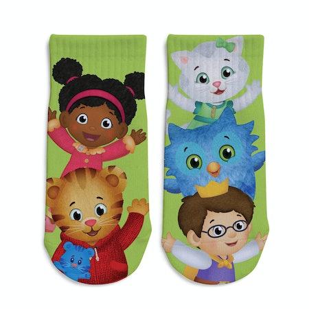 Daniel Tiger Ugga Mugga Personalized Toddler Socks