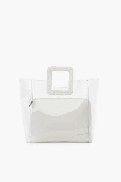 Shirley Bag Clear White