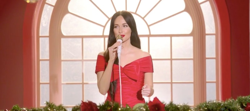 The Kacey Musgrave Christmas Show soundtrack features classic hits and original songs
