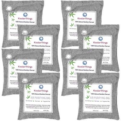 KoolerThings Bamboo Charcoal Air Purifying Bags (8-Pack)