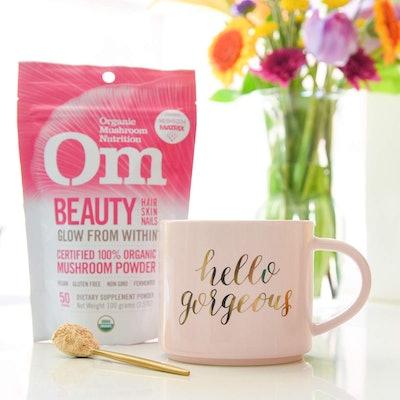Om Organic Mushroom Beauty Supplement