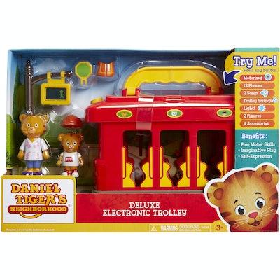 Daniel Tiger's Neighborhood Deluxe Electronic Trolley
