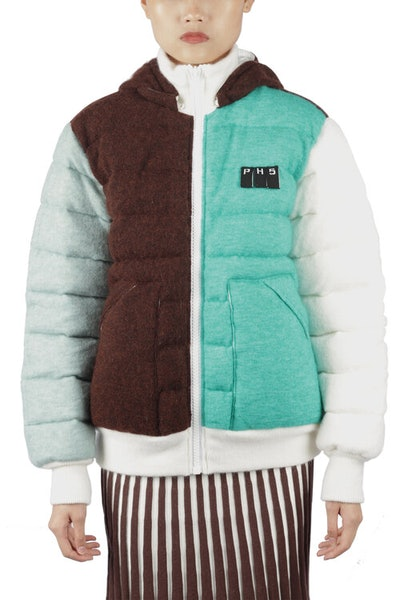 Snow Colorblocked Puffer Jacket