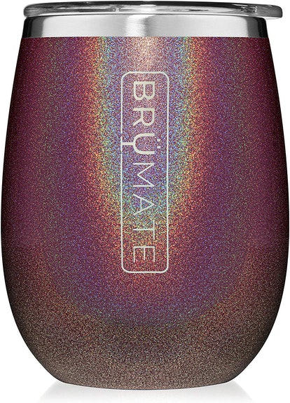 BrüMate Insulated Stainless Wine Glass Tumbler