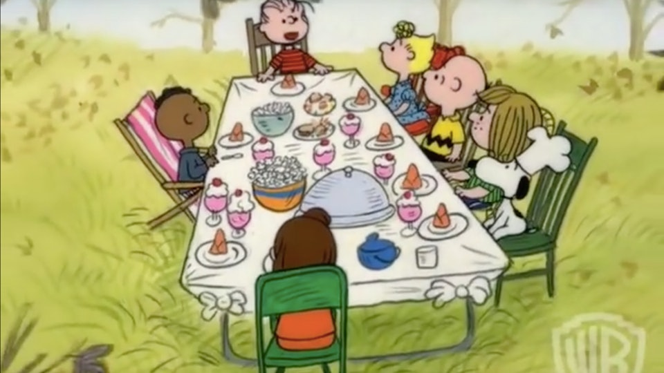 'A Charlie Brown Thanksgiving' is available for streaming after airing on Wednesday