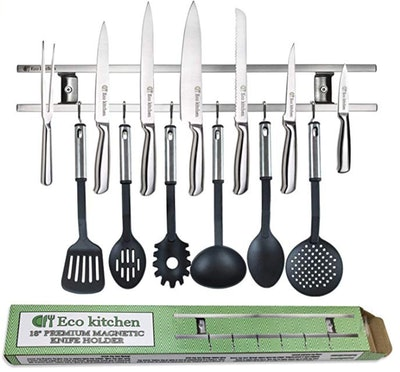 Eco Kitchen Magnetic Knife Strip, 18-Inch