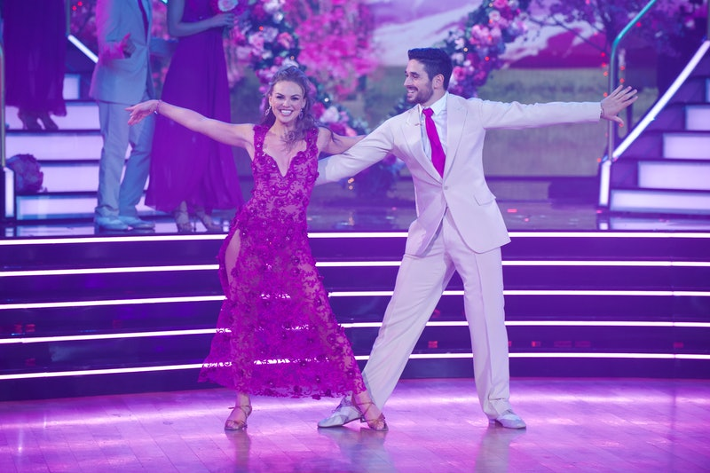 Hannah Brown and Alan Bersten on Dancing With the Stars