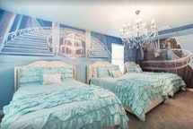 'Frozen'-themed bedrooms fill this vacation rental
