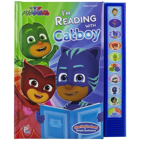 PJ Masks - I'm Ready To Read with Catboy Sound Book