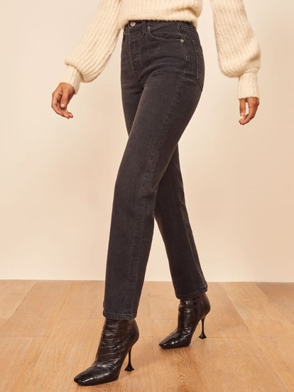 Juliet High Straight Relaxed Jean
