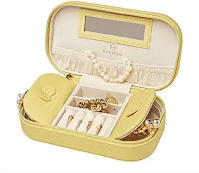 Vlando Travel Tassel Jewelry Box Organizer