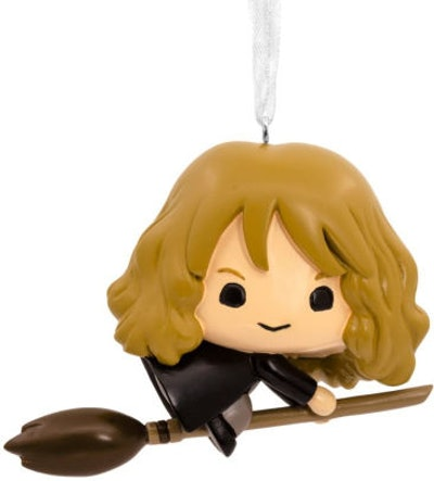 Hallmark Harry Potter, Hermione on a Broomstick Christmas Ornament