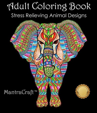 MantraCraft Adult Coloring Book
