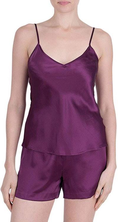 OSCAR ROSSA Silk Camisole And Shorts Set