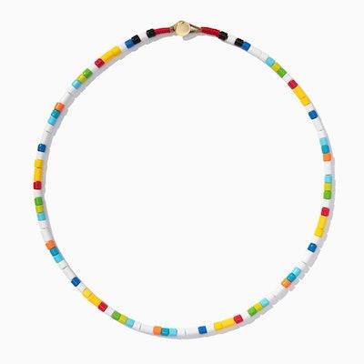 Tie Dye U-Tube Necklace