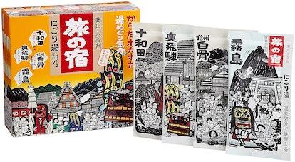 TABINO YADO Hot Springs ''Milky'' Bath Salts Assortment Pack