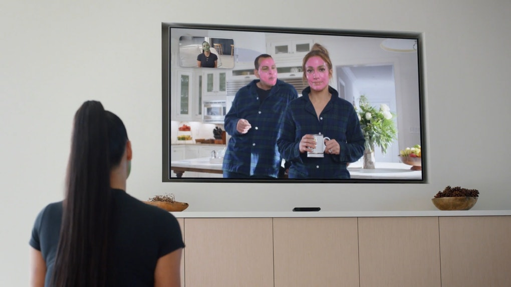 Kim Kardashian and Jennifer Lopez's Facebook Portal Ad featured a cameo from Alex Rodriguez.