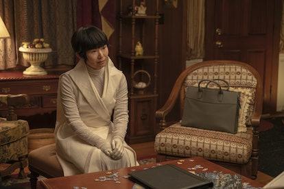 Hong Chau as Lady Trieu in Watchmen